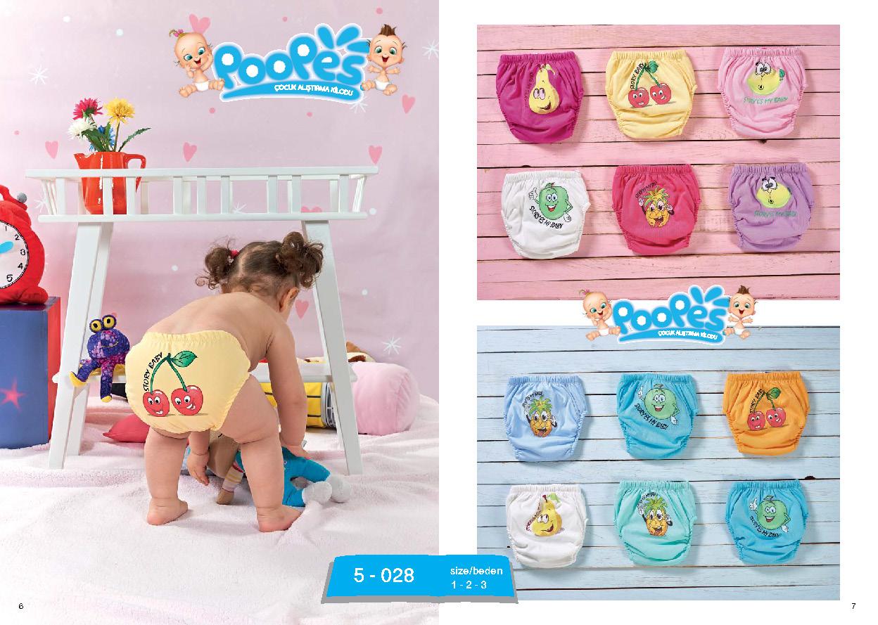 Poopes Çocuk Alıştırma Külodu
